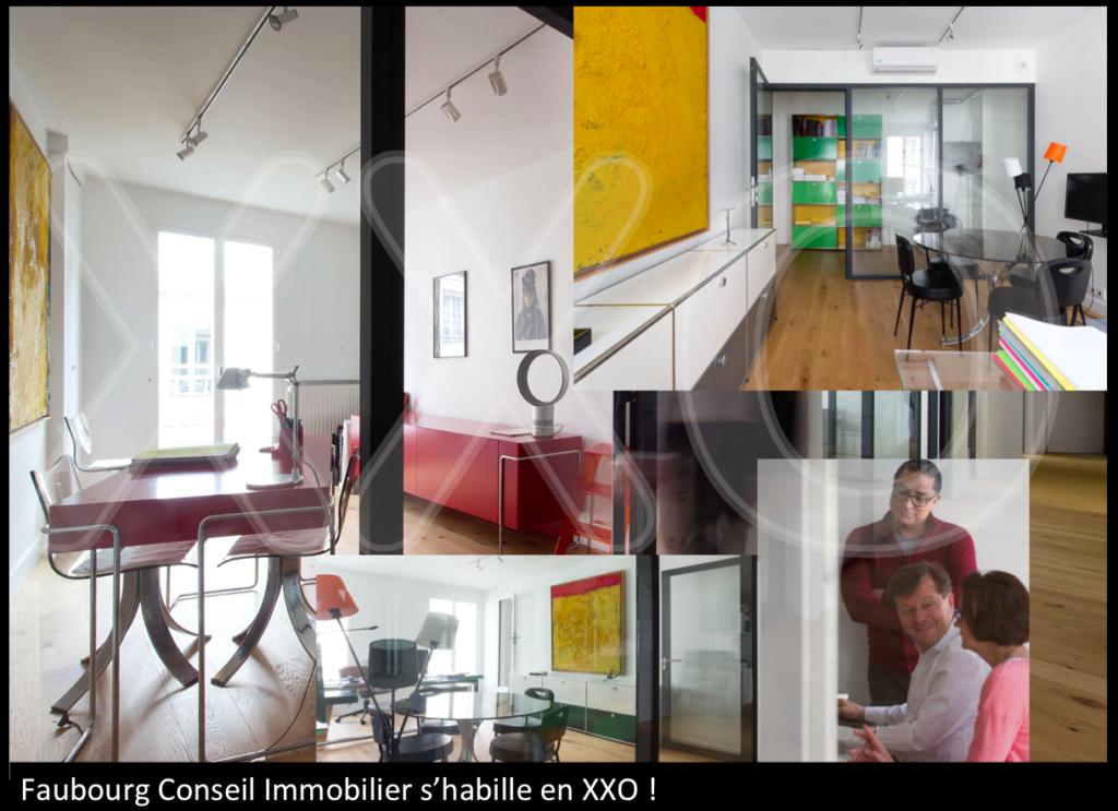 Faubourg conseil immobilier s'habille en XXO